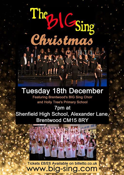 The BIG Sing Live at Christmas - Brentwood