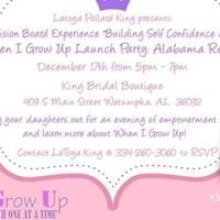 When I Grow Up LaunchVision Board Party (Wetumpka)