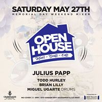 Open House Music Mixer With Julius Papp