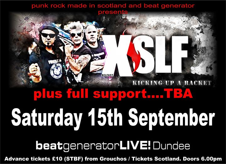 XSLF plus full support live at Beat Generator Dundee