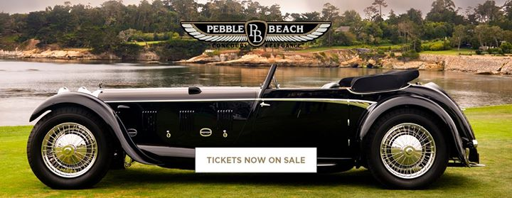 Pebble Beach Concours DElegance Monterey County - Pebble beach car show 2018