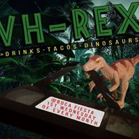 VH-Rex a Dino Double Feature in the Backyard