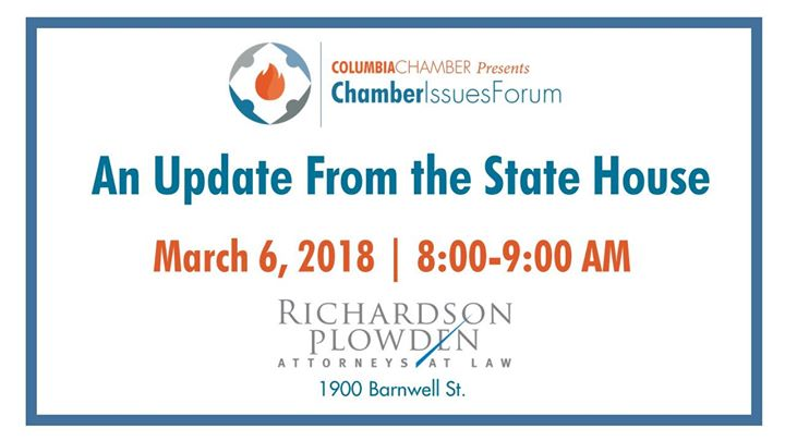Chamber Issues Forum - An Update from the State House