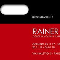 Rainer Splitt - Color in motion  Where do we go next