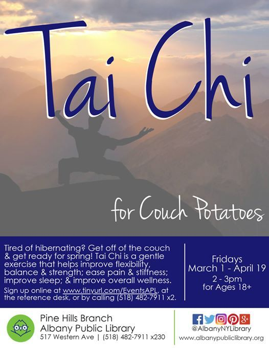 Tai Chi for Couch Potatoes
