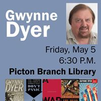 Gwynne Dyer at the Picton Branch Library