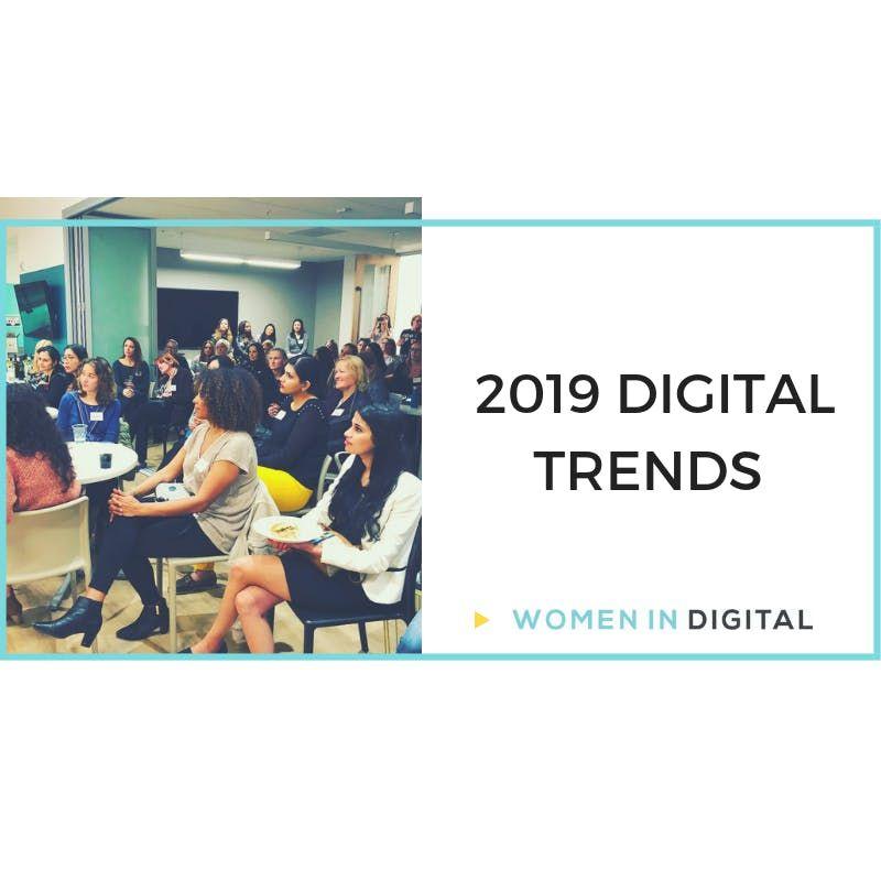 Cincinnati Women in Digital January Meetup 2019 Digital Enablement