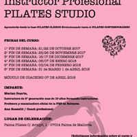 Curso Instructor Profesional Pilates Studio
