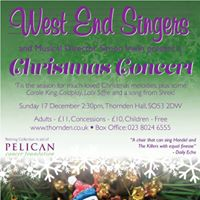 West End Singers Christmas Concert