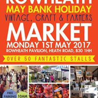Rowheath Market - May Bank Holiday