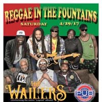 Reggae in The Fountains III with The Wailers
