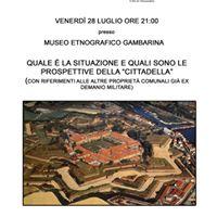 Conferenza sulla Cittadella
