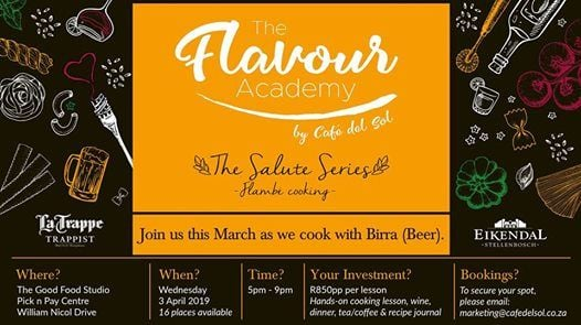 The Flavour Academy - Cooking with beer