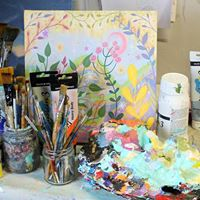 Adult Acrylic Painting Evening Classes- suitable for all levels