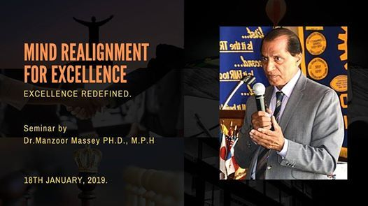 Mind Realignment for Excellence by Dr. Manzoor Massey