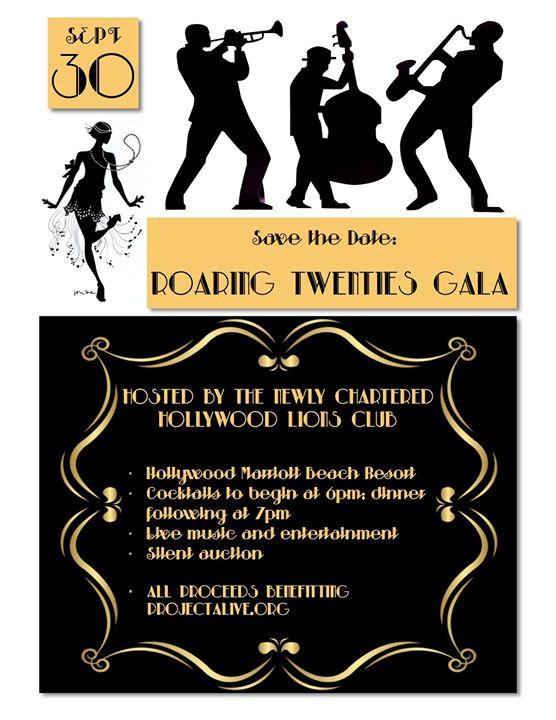 Roaring Twenties Gala (Hosted by Hollywood Lions Club)