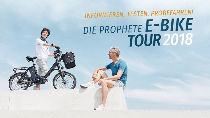 Prophete E-Bike Testtag 2018 in Gersthofen