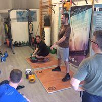 British Kettlebell Championship Team TrainingTest Session