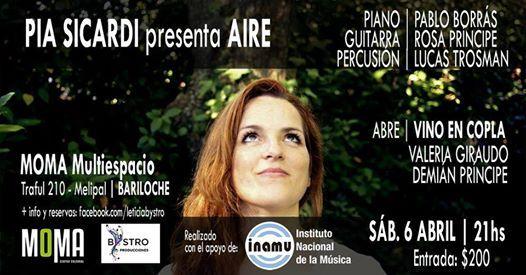 PA Sicardi presenta AIRE en Bariloche