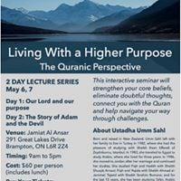 Living with a Higher Purpose with Ustadha Umm Sahl