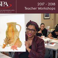 SPAs Art Contest Teacher Workshop