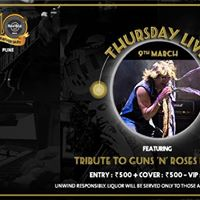 Tribute to Guns N Roses by 2blue - Thursday Live