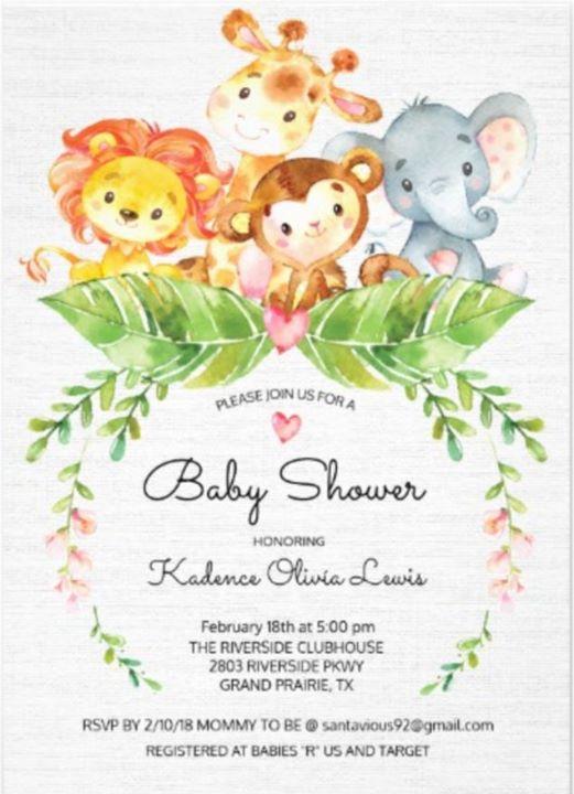 Kadence Baby Shower