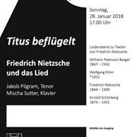 Friedrich Nietzsche und das Lied. Liederabend.