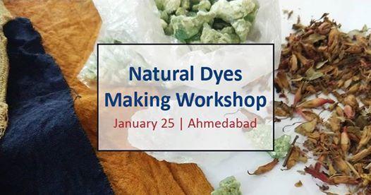 Natural Dyes Making workshop