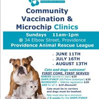 June Vaccination &amp Microchip Clinic