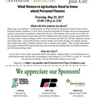 What Women In Agriculture Need to Know about Personal Finance