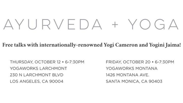 Ayurveda  Yoga - Yogaworks Talk