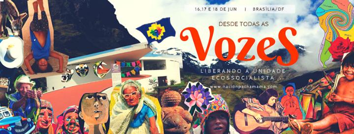 Resultado de imagem para VI Festival Internacional da Nación Pachamama acontece em Brasília