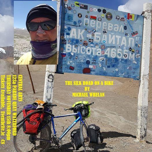 The Silk Road on a Bike by Michael Whelan