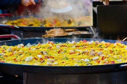 Seafood Paella Night