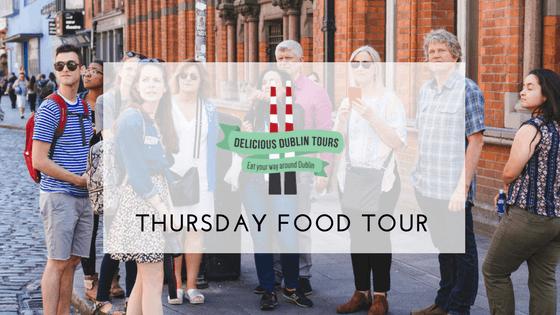Delicious Dublin Food Tour (Thursdays)