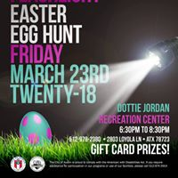 Teen Flashlight Easter Egg Hunt