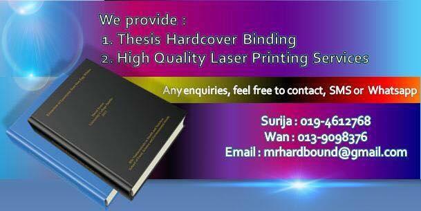 thesis binding petaling jaya