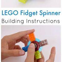 LEGO Fidget Spinner Camp