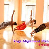 Yoga Alignment Principles - 4 week series