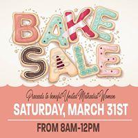 Bake Sale host by The United Methodist Women of Trinity UMC