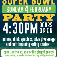Super Bowl Party at the Club
