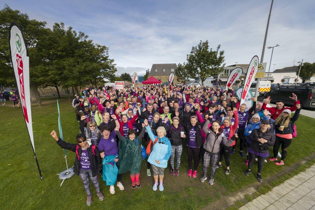 Head2Head Walk 2019 in aid of Cystic Fibrosis Ireland