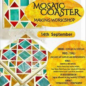 Mosaic Coaster Making Workshop