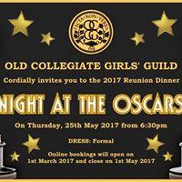 OCGG Reunion Dinner 2017 - Night at the Oscars