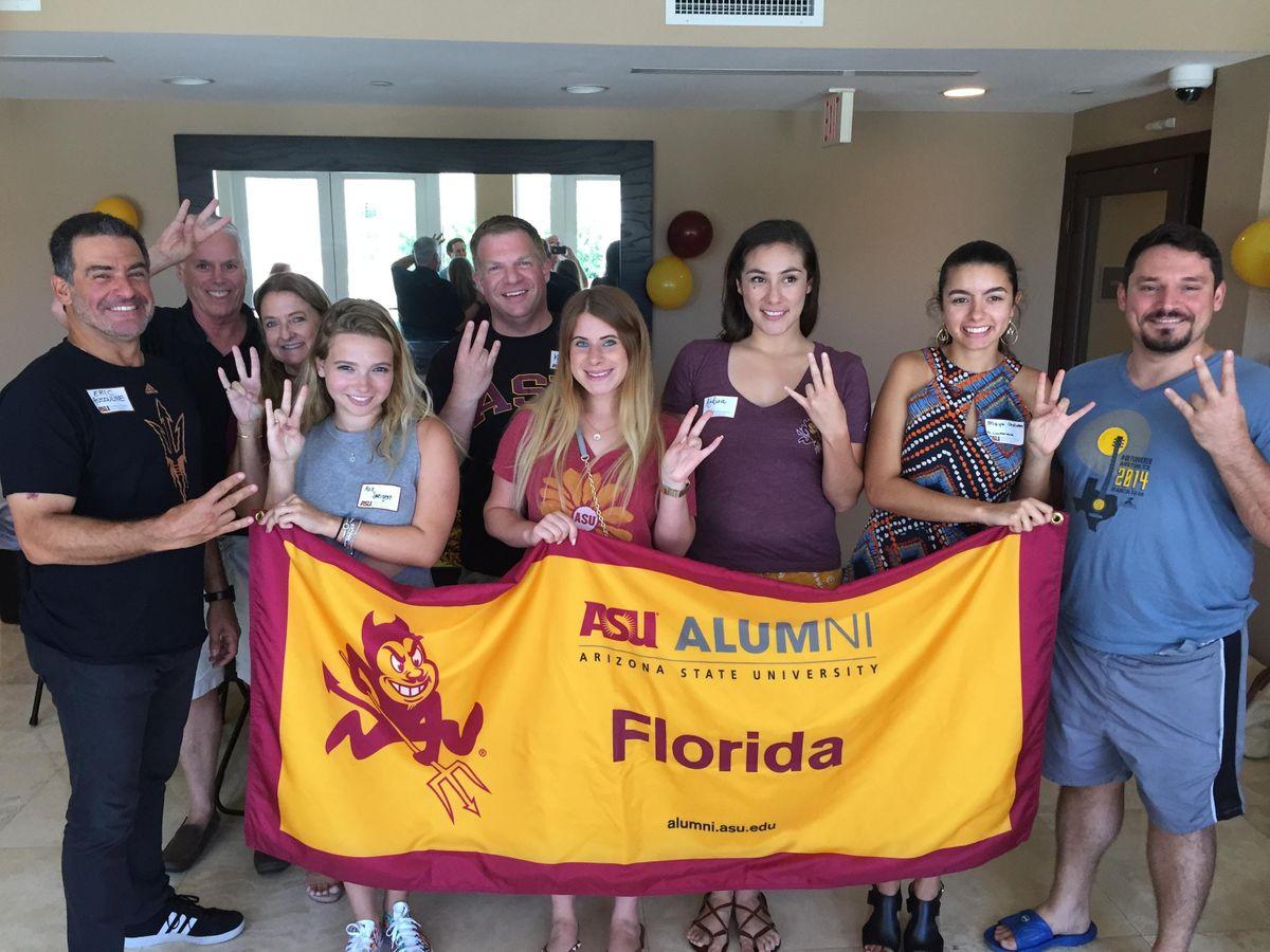 South Florida ASU Sun Devil Send-Off