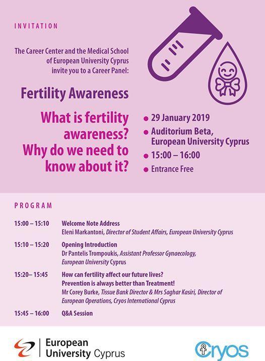 Career Panel Fertility Awareness