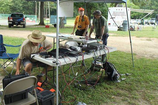 W4BFB ARRL Field Day 2019 at Mecklenburg Amateur Radio