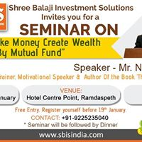 Seminar On Dont Make Money Create Wealth By Mutual Funds