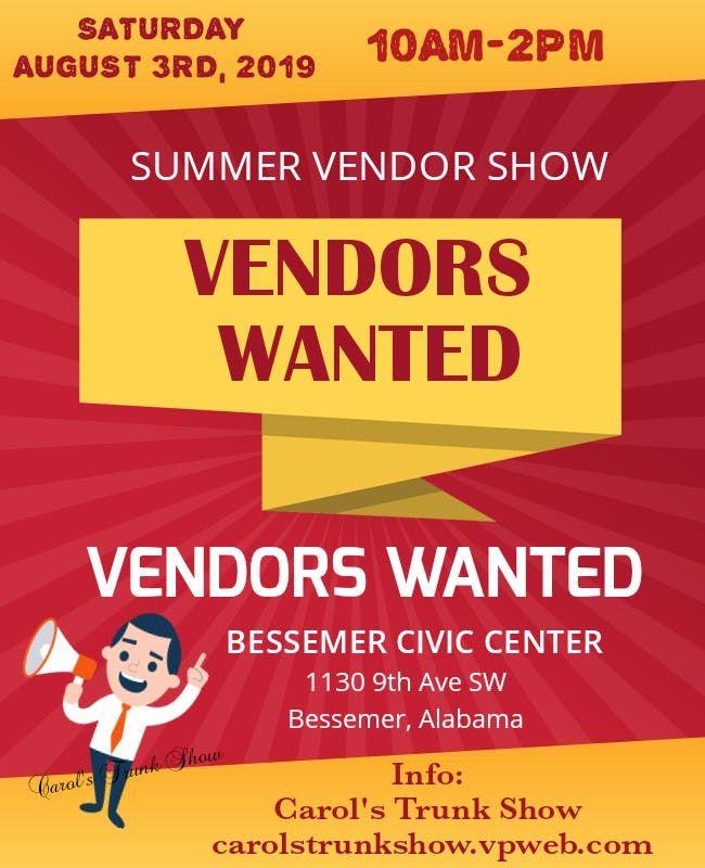 Summer Vendor Expo 2019